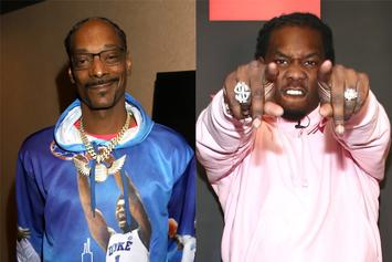 """Snoop Dogg Finds Offset's """"Little Brother"""" Working At Pizza Joint"""