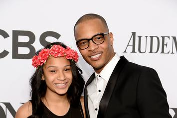 """T.I.'s Daughter Deyjah Likes Several Tweets Trashing Her Dad For """"Hymen"""" Comment"""