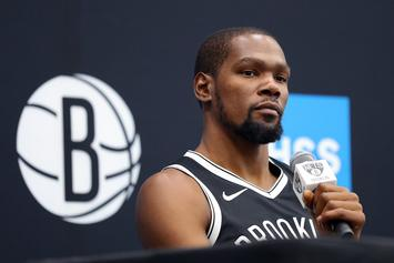 Kevin Durant Has Nets Fans Excited With His Recent Court Workout: Watch
