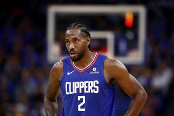 "Clippers Fined $50K For ""Inconsistent"" Statements On Kawhi Leonard's Health Status"