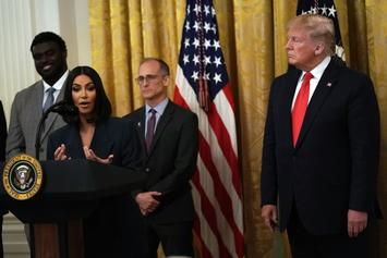 Kim Kardashian West Is Unapologetic About Meeting With President Trump