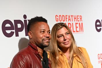 Cuba Gooding Jr.'s Girlfriend Goes Off On Him At Bar & Gets Removed By Security