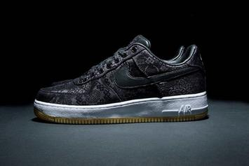 """Clot x Fragment x Nike Air Force 1 Low Revealed In """"Black Silk"""" Colorway"""