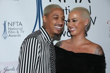 """Amber Rose Can't Wait 6 Weeks To Have Sex With AE: """"He's Too Damn Fine"""""""