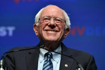 Bernie Sanders Flexes Wet Jumper And Gets Straight Buckets: Watch