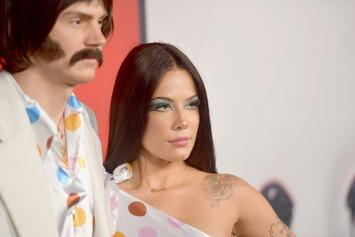 Halsey & Evan Peters Spark Pregnancy Rumours With This Belly Rub Pic