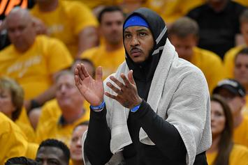 "Carmelo Anthony Says Blazers' Signing Is A ""Perfect Opportunity"": Watch"