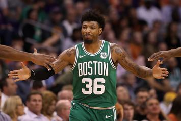 Marcus Smart Reacts To Patrick Beverley's Blatant Disrespect