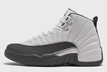 "Air Jordan 12 ""Dark Grey"" Coming Soon: Official Images"