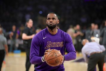 LeBron James Lets Out Massive Fart Before Lakers Game: Watch