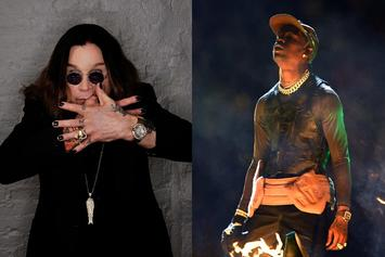 Travis Scott & Ozzy Osbourne Went Halvsies On An Order Of Bat