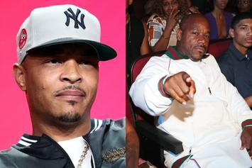 "Wack 100 Menaces T.I. As Beef Intensifies: ""Sit Down Little Guy"""