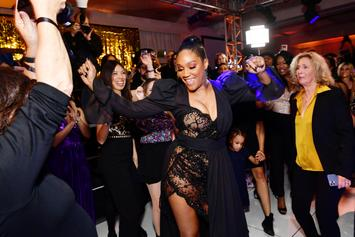 "Tiffany Haddish Embraces Jewish Heritage & Throws ""Black Mitzvah"" For 40th Birthday"