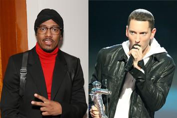 "Nick Cannon Mocks Eminem In Diss Response: ""Get Out Your Wheelchair"""