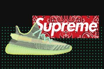 "Win The Adidas Yeezy Boost 350 V2 ""Yeezreel"" Or Supreme Hoodie For $1"