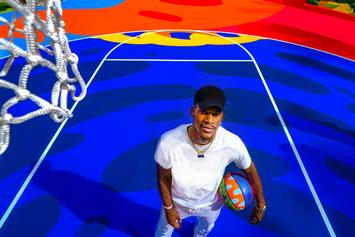 """Jimmy Butler Helps Unveil Gorgeous & Colorful """"Royal Court"""" In Miami"""