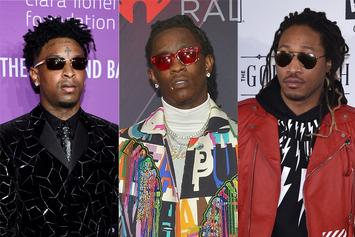 21 Savage Thinks Young Thug & Future Should Get Writing Credits On Everything