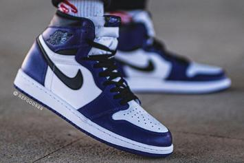 "Air Jordan 1 High OG ""Court Purple"" Coming Soon: On-Foot Images"