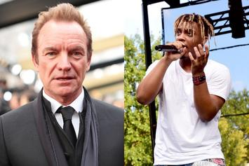 "Sting Talks Juice WRLD's Death & ""Lucid Dreams"" Lawsuit Rumor"