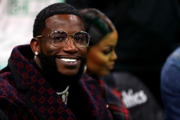 Gucci Mane Channels East Atlanta Santa While Strolling Through NYC Streets