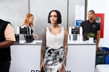 Kehlani Gets Rose Petal Treatment From Unknown Lover