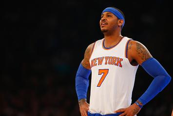 Ex-Knick Reveals How Much Carmelo Anthony Paid To Wear His No. 7 Jersey