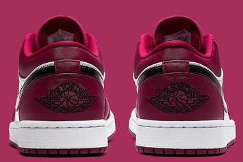 "Air Jordan 1 Low Receives ""Noble Red"" Makeover: Official Images"