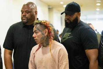 6ix9ine Has A Second Daughter, According To Court Hearing: Report
