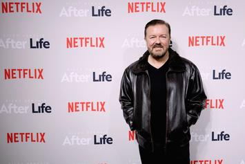 Ricky Gervais Under Fire After Posting Transphobic Jokes On Twitter
