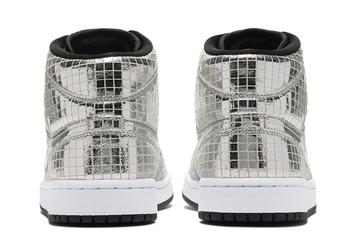 """Air Jordan 1 Mid """"Disco Ball"""" Officially Unveiled: Details"""