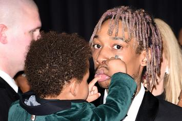 "Wiz Khalifa's Son Met Roddy Ricch & It Was The ""Best Day Of His Life"""