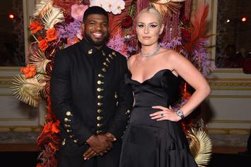 """Lindsey Vonn Proposes To P.K. Subban, Thinks """"Men Should Get Engagement Rings Too"""""""