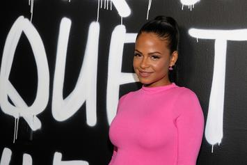 Christina Milian Looks Gorgeous While Showing Off Her Tattooed Baby Bump