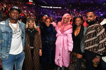 T.I., Lil Kim, Lil Baby & More Celebs Attend Gervonta Davis Fight In Atlanta