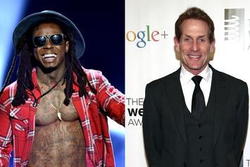 Skip Bayless Details Texting Lil Wayne During Rapper's Visit To Saudi Arabia