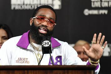 Adrien Broner's Baby Mama Roasts Him For Sliding In Bhad Bhabie's DMs