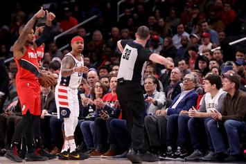 Isaiah Thomas Ejected Less Than 2 Minutes Into Game For Shoving Ref