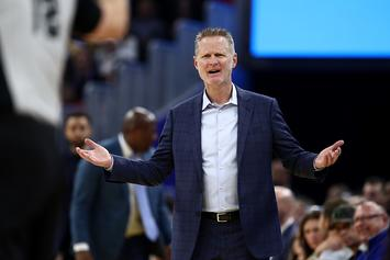 "Warriors' Steve Kerr Ejected For Scolding Refs: ""Wake Your Ass Up!"""