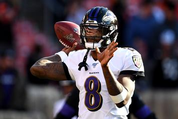 Ravens Fans Lose It After Drake Gives Lamar Jackson A Co-Sign