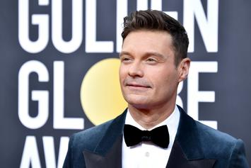 "Ryan Seacrest Has A ""DOH!"" Moment After Falling Out His Chair On Live Television"