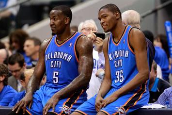 "Kevin Durant, Kendrick Perkins Trade Jabs On Twitter: ""You Took The Coward Way Out!"""
