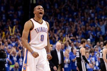 Russell Westbrook Welcomed Back To OKC With Awesome Tribute Video: Watch