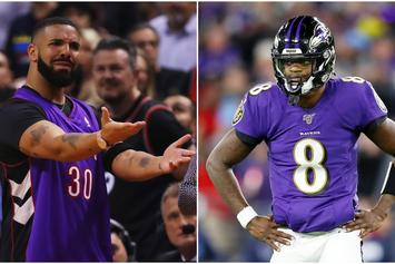 Drake Curse Is Back; Baltimore Ravens Lose After Drizzy Shouts Out Lamar Jackson