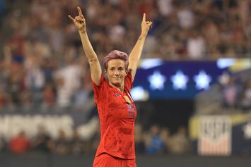 "Megan Rapinoe On Olympics' Protest Ban: ""We Will Not Be Silenced"""