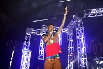 """Blueface Shares Video Of Dance Challenge For Unreleased Song """"Holy Moly"""""""