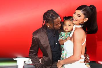 Kylie Jenner Sends Warning To Leave Her & Stormi Alone Using Outdated Meme