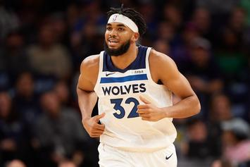 Karl-Anthony Towns Tries To Quiet Trade Rumors