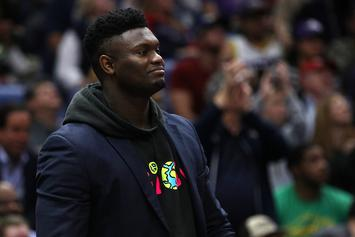 Zion Williamson Gives Peculiar Excuse For Sleeping On Pelicans Bench