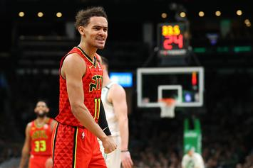 Trae Young Overcome With Emotion After Being Named All Star Starter: Watch
