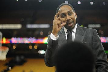 "Stephen A. Smith Gets In On The ""LinkedIn, Facebook, Instagram, Tinder"" Meme"